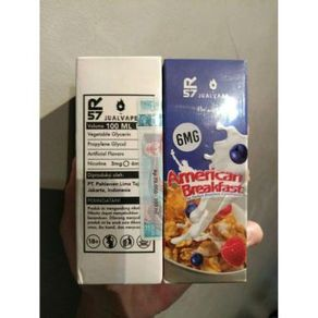 Liquid Vape American Breakfast v2 Oat Milk Berries 6mg 100ml