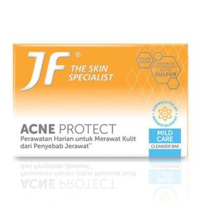 JF Acne Protect Mild Care (Blue Expression) Cleanser Bar 90Gr
