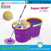 supermop m 169x+ plus ori super mop bolde - ungu alat pel 3 fungsi - orange