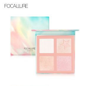 Focallure FA63 Highlighter Palet Wajah Shimmer Makeup Profesional