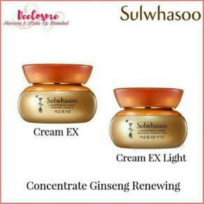 Sulwhasoo Concentrated Ginseng Renewing Cream EX/Light - 5 ml