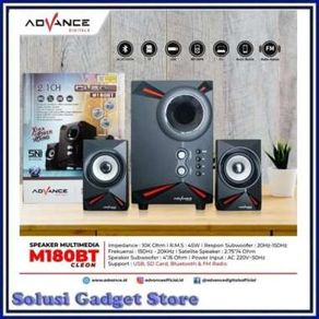 Advance Speaker aktif M180BT Cleon bluetooth speaker multimedia